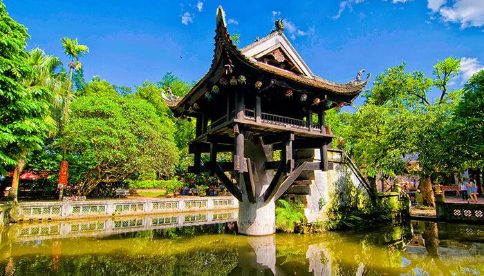 Chùa 1 Cột ở đâu? Khám phá nét kiến trúc độc đáo của văn hóa Việt