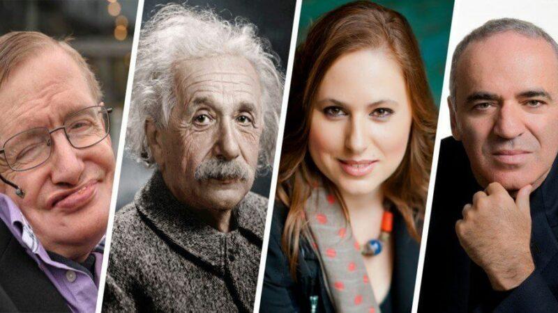 Top 7 người thông minh nhất thế giới