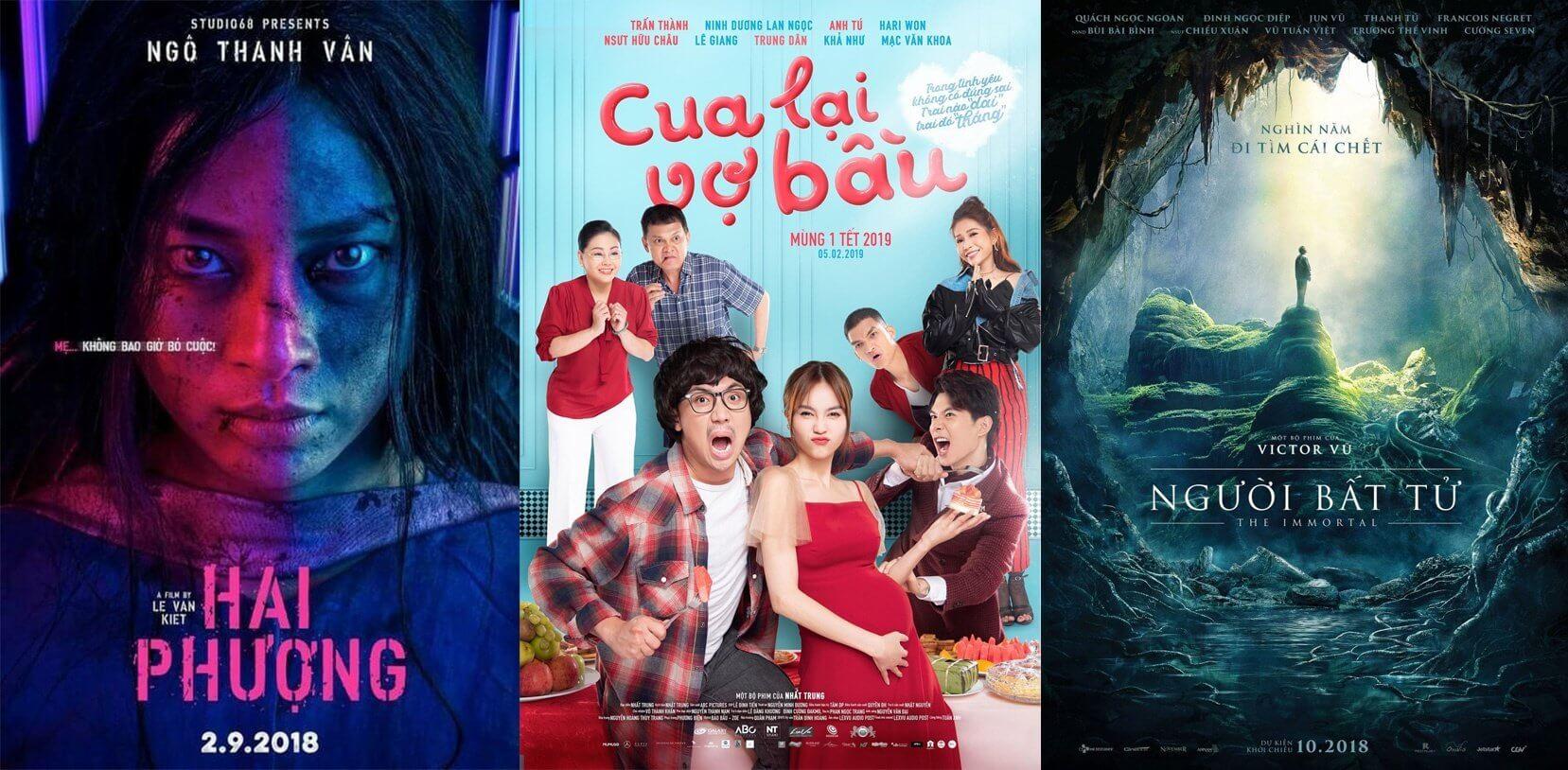 Top 5 bộ phim Việt Nam chiếu rạp hay nhất có doanh thu khủng
