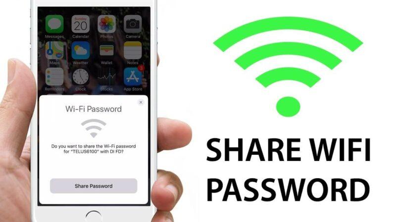 Mách bạn cách chia sẻ wifi trên iPhone cực đơn giản